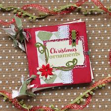 the craft patch ornament scrapbook