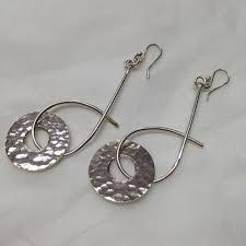 dramatic earrings dramatic earrings made silver jewellery tamrakar bristol uk
