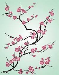 cherry blossom tree embroidery design tree picture ideas