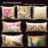 strongwater pillows 3d models 3dsky org