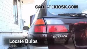 2008 subaru outback brake light bulb drl replacement 2000 2004 subaru outback 2001 subaru outback