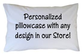 design your own pillowcase personalized pillowcase custom with any design theme in our store