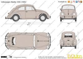 volkswagen bug drawing the blueprints com vector drawing volkswagen beetle 1200