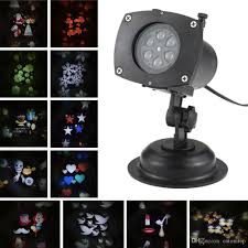 tomshine halloween christmas projector lamp rotating led