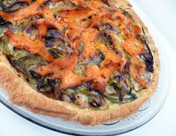 cuisine truite tarte à la truite fumée la recette facile par toqués 2 cuisine