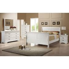 louis philippe youth bedroom set white coaster furniture