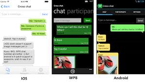 github egorbo crosschat xamarin forms a chat application