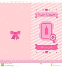 Invitation Cards For Baby Shower Baby Shower Invitation Card Stock Vector Image 51175803