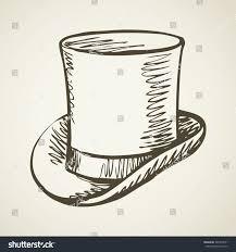 elegant gent mr aged beaver chimney stock vector 361854071