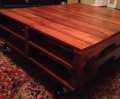 How To Make A Coffee Table by How To Make A Pallet Coffee Table Homestretch Moving