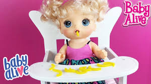 Baby Chair Toys R Us New Baby So Sweet Doll High Chair From Toys R Us Youtube