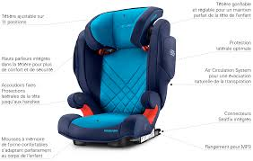 crash test siege auto 2013 siège auto monza 2 seatfix recaro groupe ii iii acheter