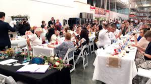 Costco Banquet Table This Australian Couple Got Married At Costco Today Com