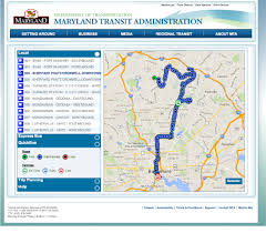 Maryland Metro Map by My Mta Bus Tracker Maryland Transit Administration
