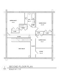 Pier Foundation House Plans by Plans Package 35x35 Log Home Builders Association