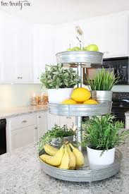 decorating a kitchen island laminate kitchen countertops fresh herbs veggies and herbs