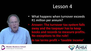 taxation of micro business and entrepreneurs in south africa youtube