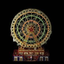 Christmas Decoration Outdoor Ferris Wheel by Amazon Com Mrchristmas Musical World U0027s Fair Grand Ferris Wheel