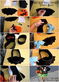 no sew halloween treat bags tutorial rae gun ramblings