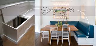 Kitchen Bench Seating Ideas Dining Room Banquettes House Tour Charming Victorian Rowhouse