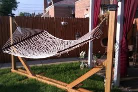 Hammock Backyard 15 Diy Hammock Stand To Build This Summer U2013 Home And Gardening Ideas