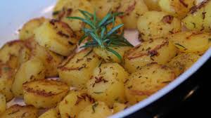 rosemary roast potatoes air fryer style recipe this