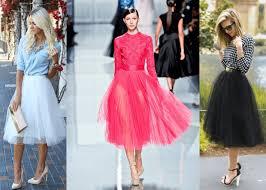 spodnica tiulowa inspiracje z czym nosić spódnicę tiulową moda damska 2017