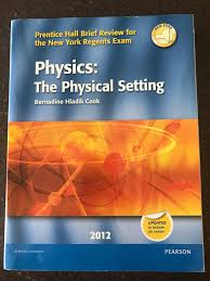 physics the physical setting 2012 prentice hall brief review