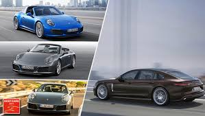 porsche car 2017 best cars 2017 porsche sweeps the board