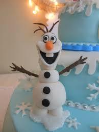 cute olaf frozen birthday cake disney party decor ideas holiday
