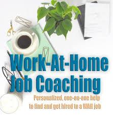 At Home Logo Work At Home Job Coaching