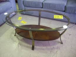 replace glass in coffee table with something else oval glass coffee table contemporary in riveting oval glass coffee