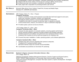 sle resume format for ojt information technology students computer technician resume outstanding sle for network fresh