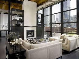 casement windows glass coffee table high ceiling hvac industrial
