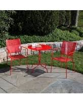 Red Patio Set by Check Out These Scary Good Bargains On Alfresco Home Martini