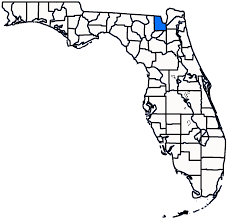 Map Florida Counties by Baker County Florida Independent History U0026 Genealogy Page