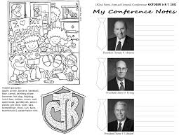 occasional crafting general conference handout for kids