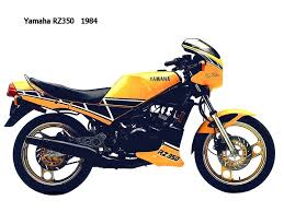1984 yamaha rz350 kenny roberts special motorcycles pinterest