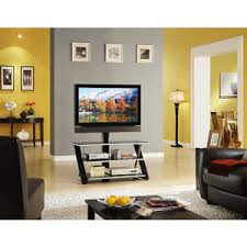 Tv Tables At Walmart Whalen 3 In 1 Flat Panel Tv Stand For Tvs Up To 50