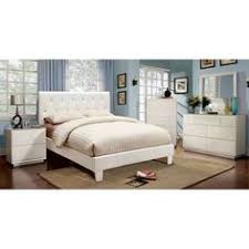 milan 5 pc bedroom set in white lacquered finish by j u0026m bedroom