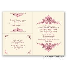 Invitations With Response Cards Vintage Victorian Separate And Send Invitation Ann U0027s Bridal Bargains