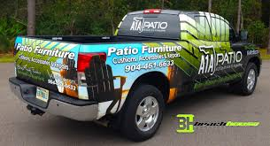 Patio Furniture St Augustine Fl by Truck Wrap U2013 St Augustine Florida