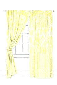 Soft Yellow Curtains Designs Yellow Curtains Sheer Mirak Info