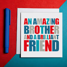 cool birthday card for brother pattern best birthday quotes