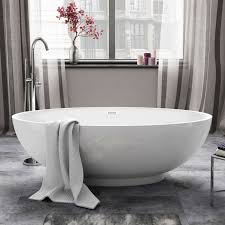 Free Standing Bathroom Mirrors Uk by 1685mm Luxury Modern Freestanding Bath Acrylic White Designer