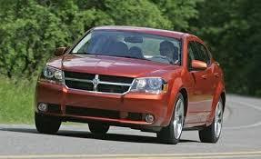 2008 Dodge Avenger Se Interior 2008 Dodge Avenger R T Awd Short Take Road Test Reviews Car