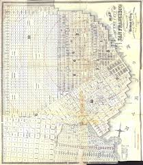 San Francisco City Map by Map Of The City Of San Francisco 1862 Eric Fischer Flickr