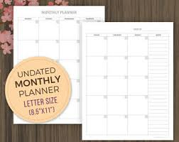 daily planner inserts 2018 printable planner everyday