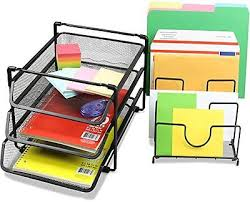 Desk Tray Organizer by Stackable Convertable Mesh Desk Tray Organizer Letter Folder
