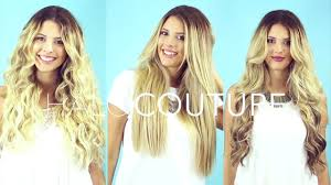 kylie coutore hair extension reviews one angel three different halocouture extensions youtube